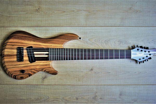 Zebra Fusion 8 Baritone – Изготовление гитар на заказ