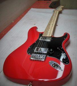 Strat Style Red Hemi