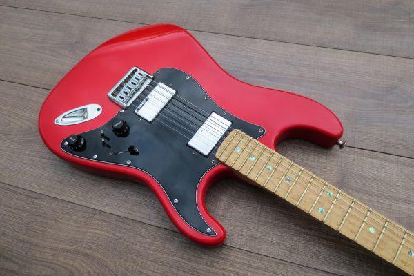 Strat Style Red Hemi – Изготовление гитар на заказ