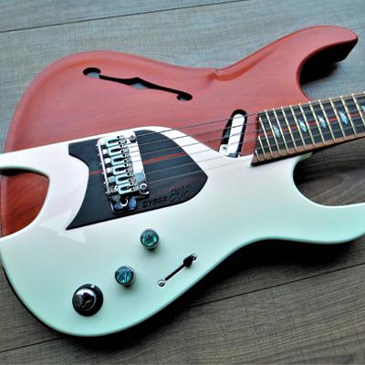 Cyber EVE Эксклюзивные гитары класса Boutique – Гитары на заказ – Мастеровые гитары