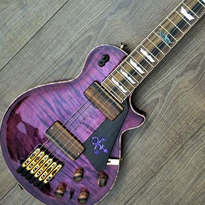 Travel LP Purple Rain Эксклюзивные гитары класса Boutique – Гитары на заказ – Мастеровые гитары